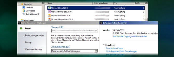 Pass-Through unter XenDesktop 7(.1) in Verbindung mit Storefront 2(.1)